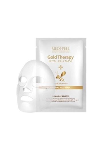 Medipeel Gold Royal Jelly -Arı Sütlü Dolgunlaştırıcı Besleyici Yüz Maskesi Renksiz